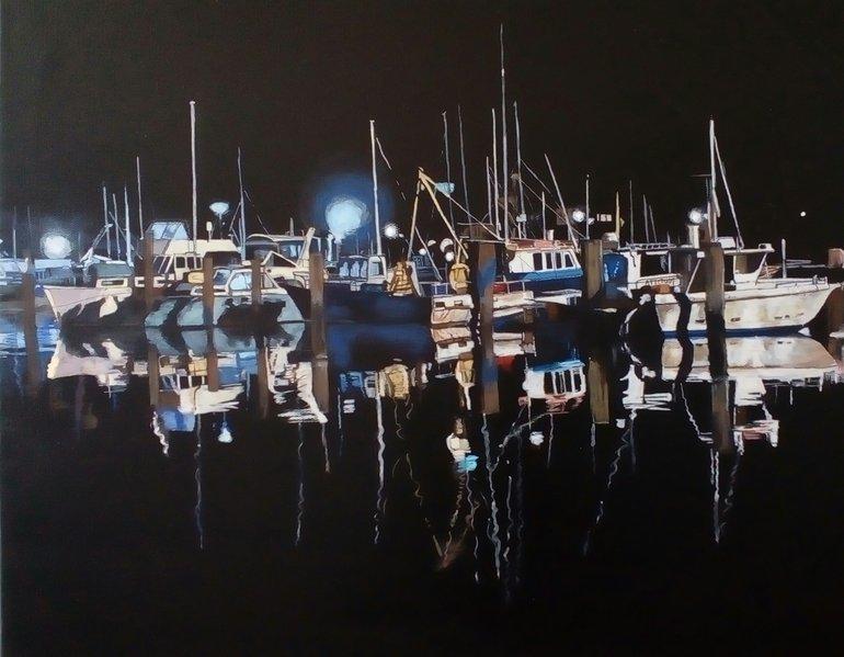 West Quay at Night